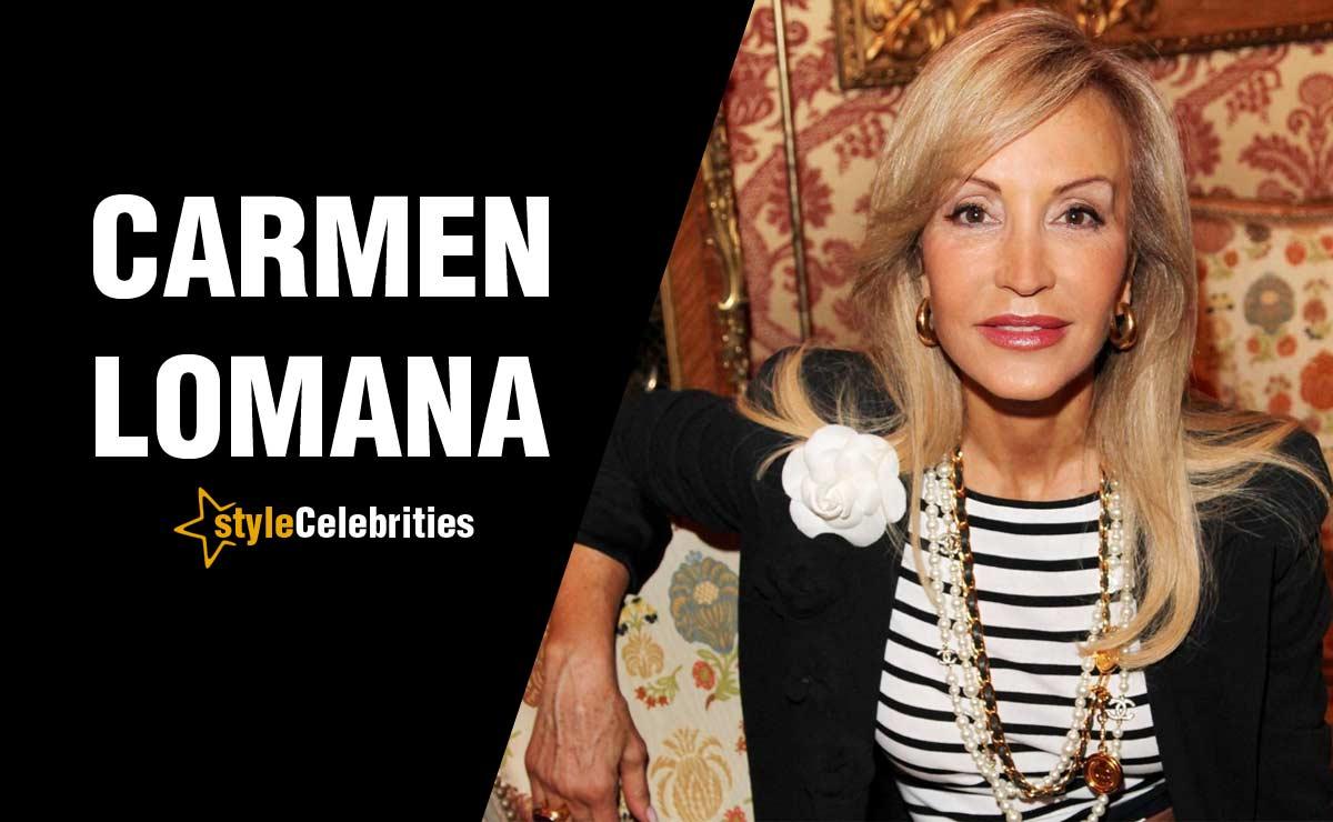 Qué perfume usa Carmen Lomana